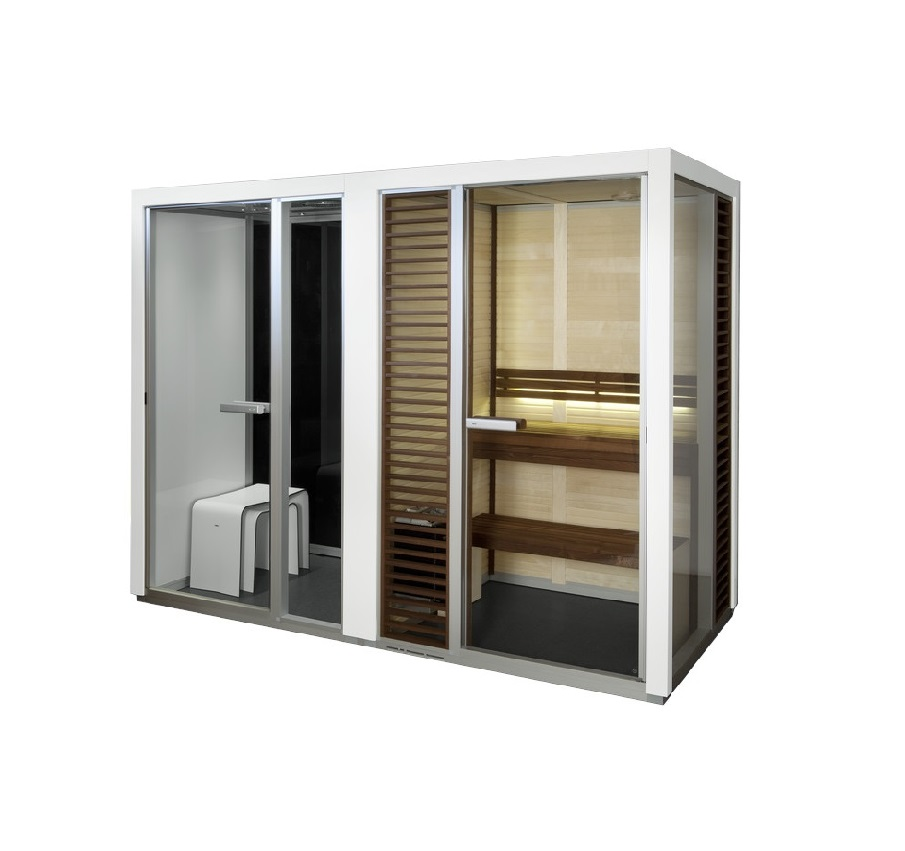 Impression Twin Sauna & Steam Room1