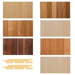 tipo legno perline separate