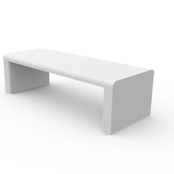 Corian bench
