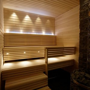 luce nordica sauna