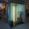 nuova cabina bagno turco TYLO modello VISTA